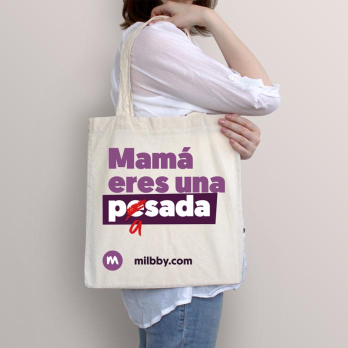 Foto de Tote Bag #mamaeresunapasada