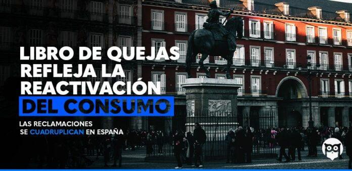 Foto de Libro de Quejas refleja la reactivación del consumo: las