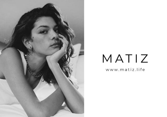 Foto de Logo MATIZ e imagen Marta Ortiz