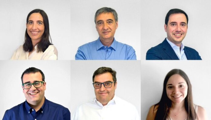 Foto de Arantxa Unda, Joseba Vallejo, Jorge Lainez, Diego Arribas,